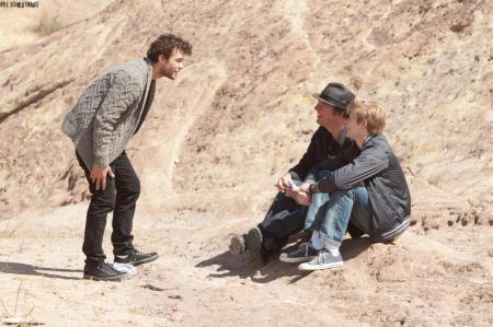 """Kyle Schmid, Rudolf Buitendach & Lucas Till sur le tournage de """"Dark Hearts"""""""