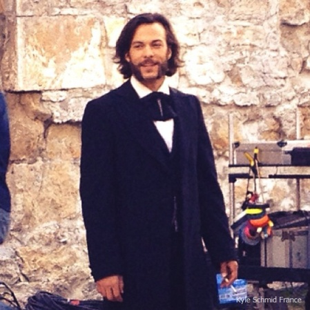 Kyle Schmid by mikeleclair74-Copper season 2-Behind the scenes